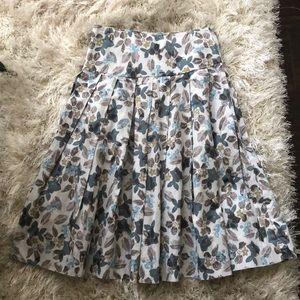 Jigsaw floral skirt